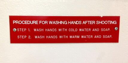 Hand Washing Instructions