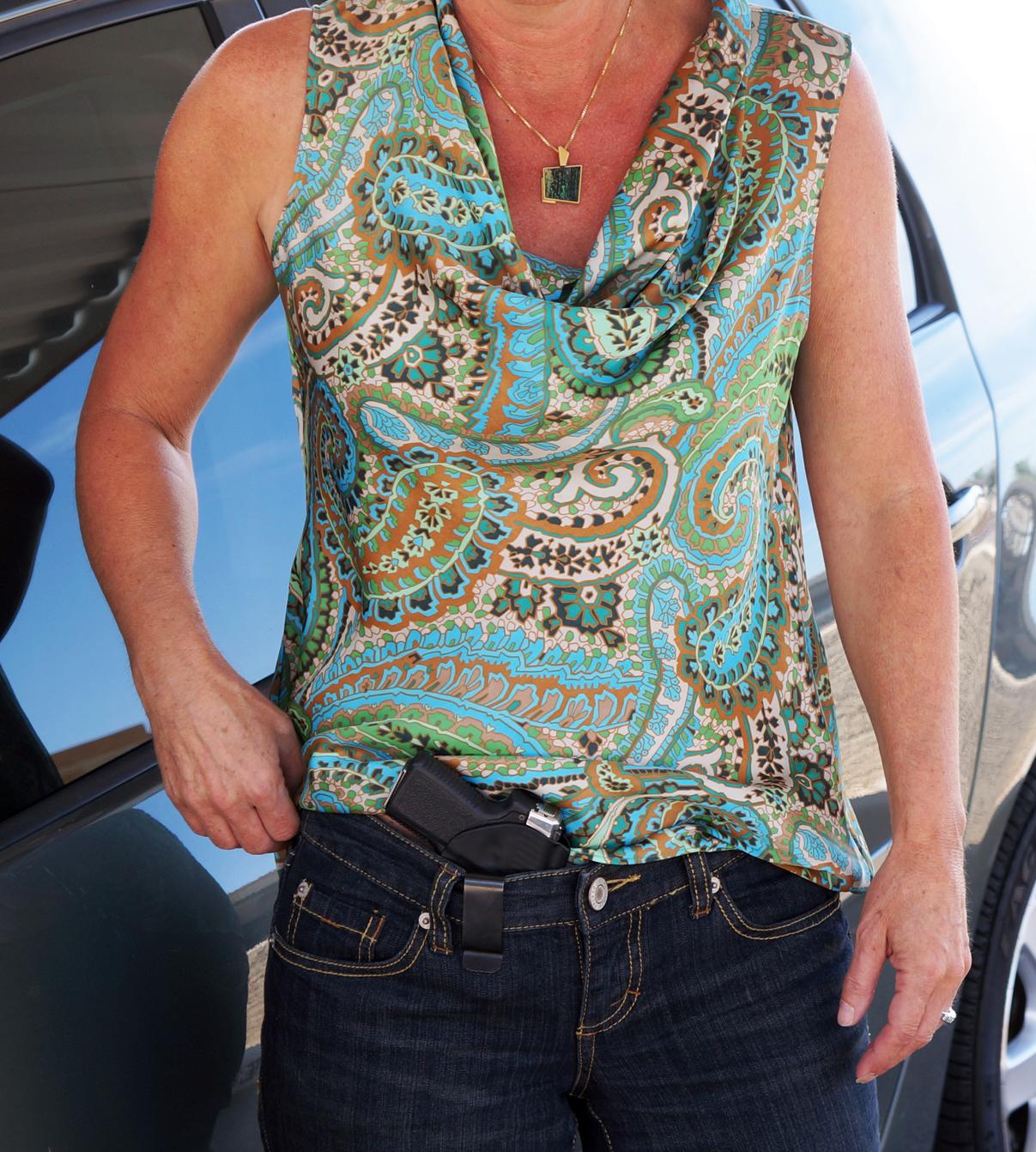 Betty Holster shown