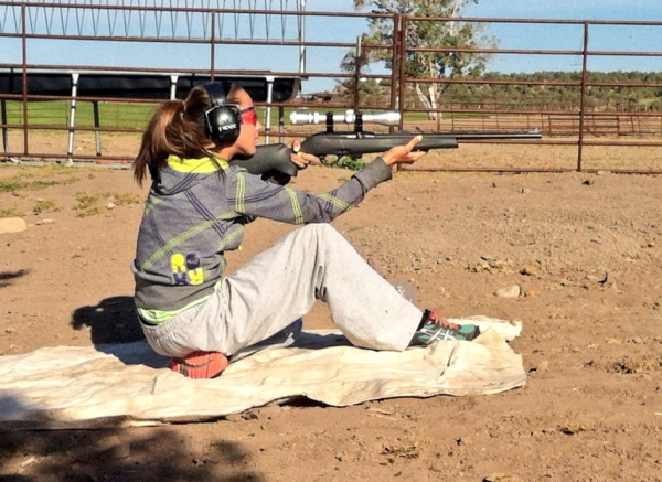 Practice breathing while working on various shooting positions.
