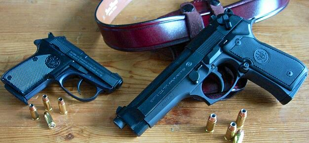 Beretta Tomcat and Beretta 92FS
