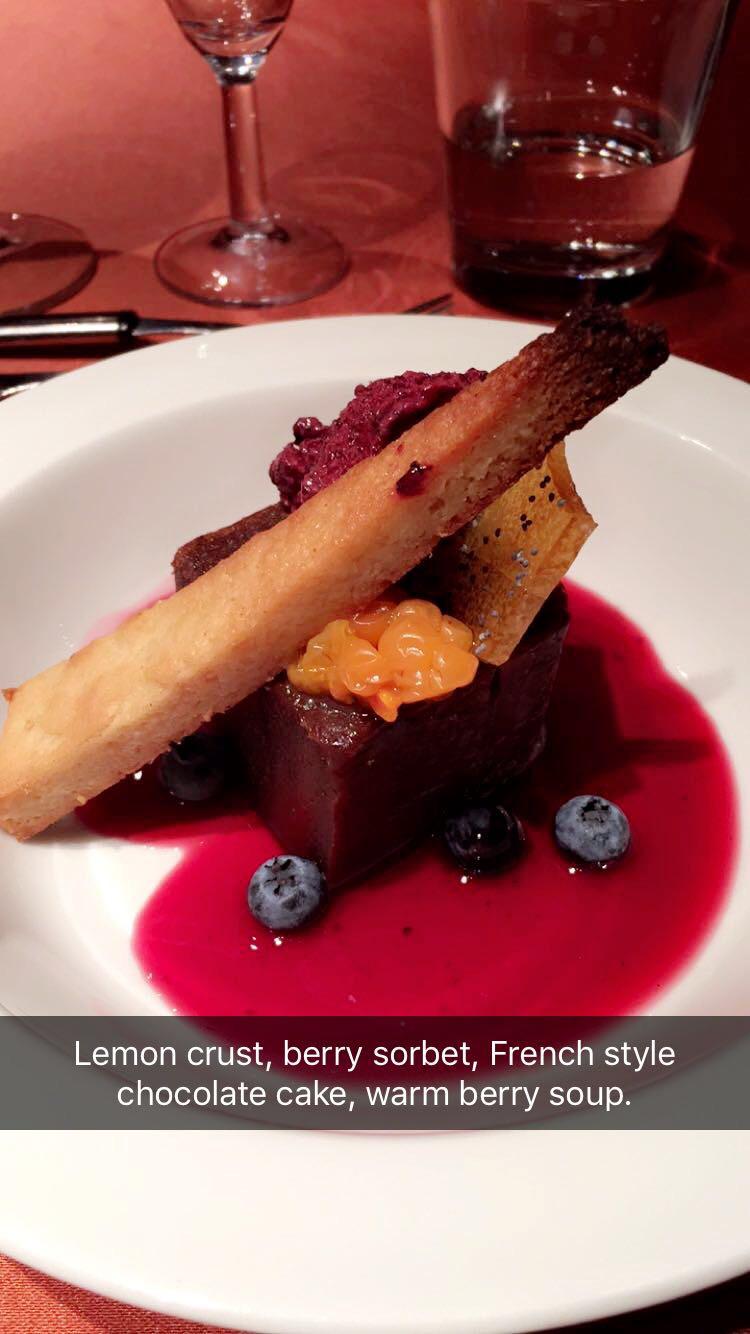 Lemon-crust-berry-sorbet-French-style-chocolate-cake-berry-soup-Mia-Anstine-photo.jpg