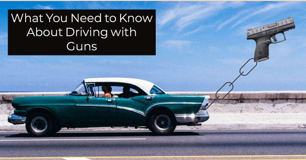 driving with guns
