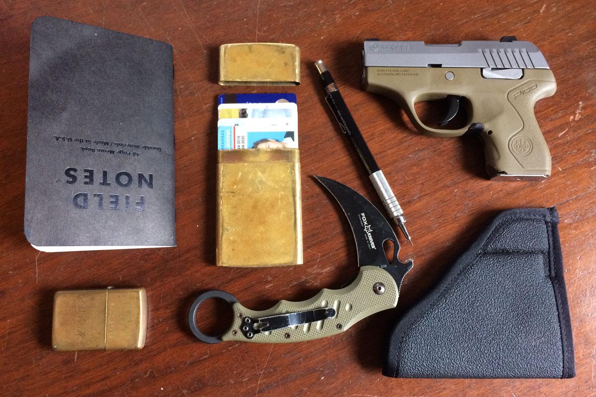 Beretta Pico EDC Everyday Carry 4
